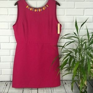 Gibson Latimer bright  fuchsia dress XL NWT